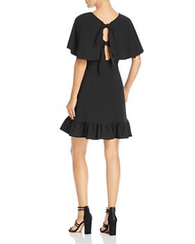 nanette Nanette Lepore - Cape-Sleeve Dress
