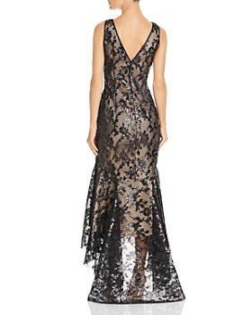 Eliza J - High/Low Sequined Mermaid Gown