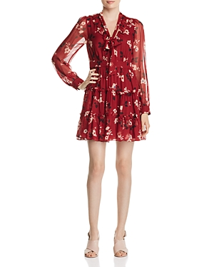 kate spade new york Camelia Chiffon Mini Dress