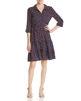 Gerard Darel - Printed Tiered-Hem Dress - 100% Exclusive