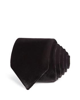 Lanvin - Velvet Skinny Tie