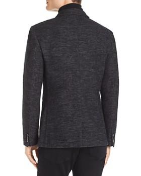 John Varvatos Collection - Slim Fit Heathered Blazer