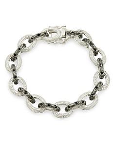 Freida Rothman - Industrial Pave Link Bracelet