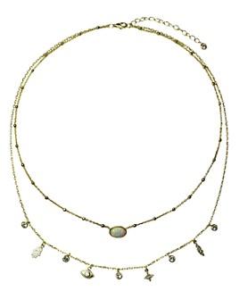 """Jules Smith - Inner Goddess Necklace, 12.5"""""""