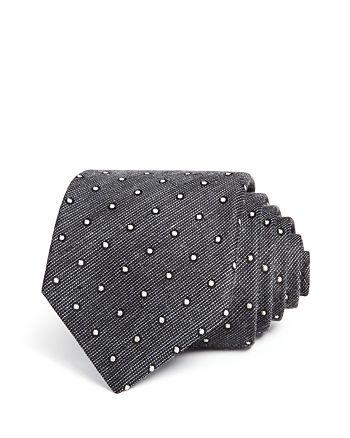 John Varvatos Star USA - Mélange Dot Classic Tie