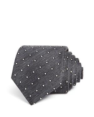 John Varvatos Star Usa Melange Dot Classic Tie