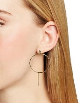 Jules Smith - Teardrop Hoop Earrings