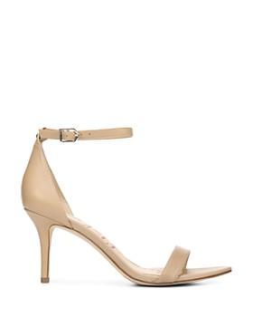 Sam Edelman - Women's Patti Open Toe Leather High-Heel Sandals