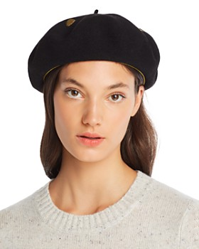 Laulhere - Smiley Embroidered Beret