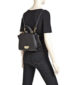 ZAC Zac Posen - Eartha Iconic Top Handle Convertible Leather Backpack