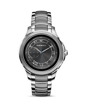 Emporio Armani Tech - Stainless Steel Touchscreen Smartwatch, 43mm