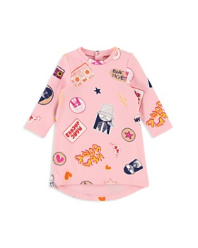 Little Marc Jacobs - Girls' Miss Marc Fleece Sweater Dress - Baby