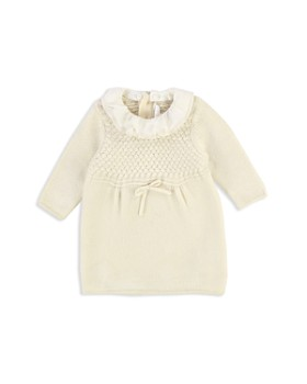 Chloé - Girls' Removable Collar Knit Dress - Baby