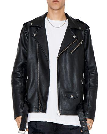 PATRON SAINT OF - Oden Leather Biker Jacket