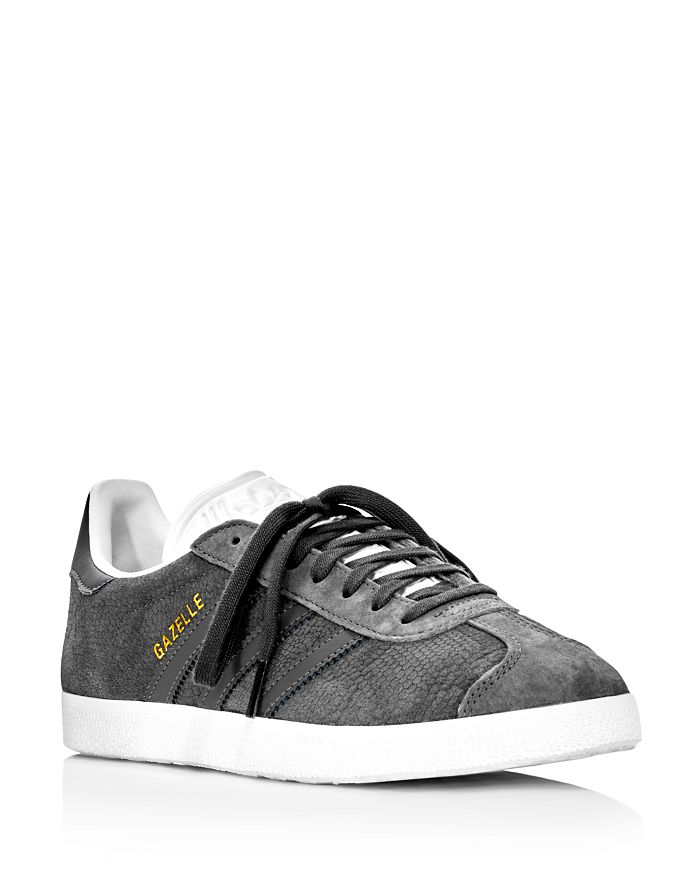 dc9cf68742d6 Adidas - Women s Gazelle Embossed Suede Lace Up Sneakers