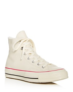 Converse - Women's Chuck Taylor All Star Faux-Fur High-Top Sneakers