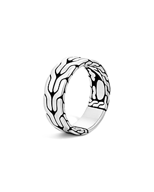 John Hardy Sterling Silver Classic Chain Band Ring