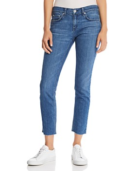 rag   bone JEAN - Dre Raw-Edge Slim Boyfriend Jeans in Lovie ... da0928e7a5af