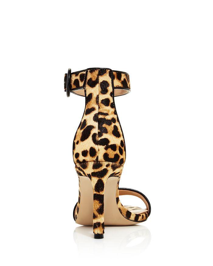 3fe279e3eb8 AQUA - Women s Seven Leopard Print Calf Hair High-Heel Sandals - 100%  Exclusive