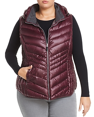 Marc New York Performance Plus Ruby Hooded Down Puffer Vest