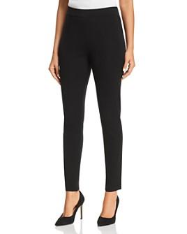 Misook - Slim Pull-On Pants
