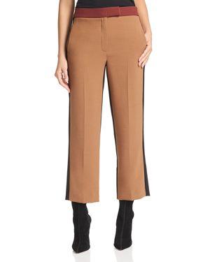 Marella Roma Cropped Color-Blocked Pants