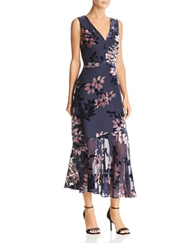 Sam Edelman - Burnout Velvet Dress