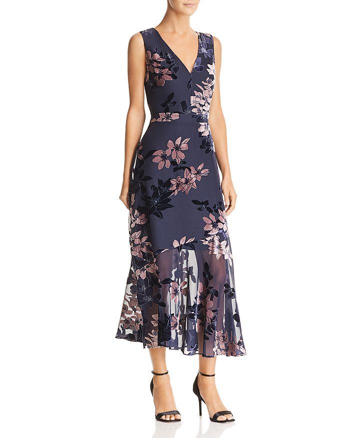 Sam Edelman - Burnout Velvet Dress