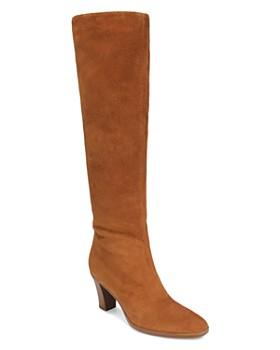 Vince - Women's Casper Suede Over-the-Knee Boots