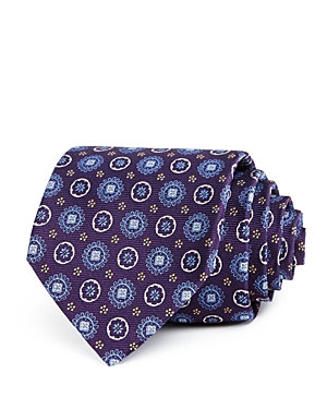 The Men's Store at Bloomingdale's Floral Medallion Silk Classic Tie - 100% Exclusive