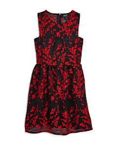 Bardot Junior - Girls' Mercer Embroidered Mesh Dress - Big Kid