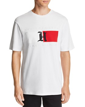 Tommy Hilfiger - x Lewis Hamilton Logo Appliqué Tee