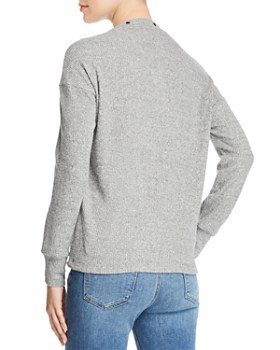 Red Haute - Snap Detail Sweater