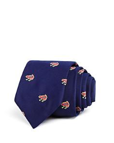 Paul Smith Tossed Frogs Silk Skinny Tie - Bloomingdale's_0