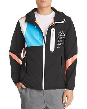 Brandblack - Santa Ana Color-Block Hooded Jacket