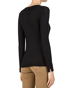 Gerard Darel - Clara Contrast-Rib Sweater