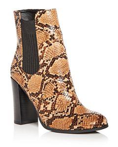 db325d573175 MARC JACOBS Women s Rocket Round Block Heel Chelsea Booties ...