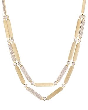 Nadri Aura Layered Necklace, 15