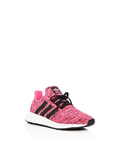 Adidas - Unisex Swift Run Knit Lace-Up Sneakers - Toddler, Little Kid