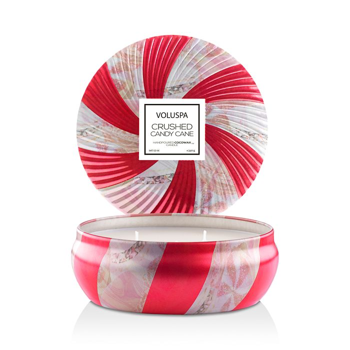 Voluspa - Crushed Candy Cane 3-Wick Candle