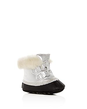 Sorel Girls' Caribootie Suede Booties - Baby