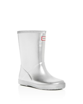 Hunter - Girls' First Classic Metallic Rain Boots - Walker, Toddler
