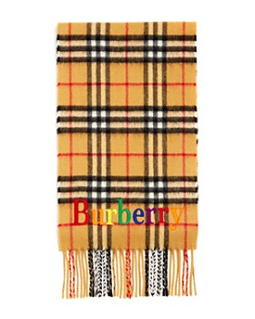 Burberry - Girls' Vintage Check Cashmere Scarf