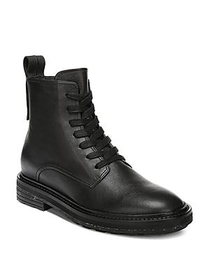 Via Spiga Women's Kinley Weather-Resistant Leather Combat Boots