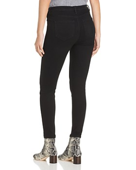 Liverpool - Bridget Ankle Skinny Jeans in Black Rinse