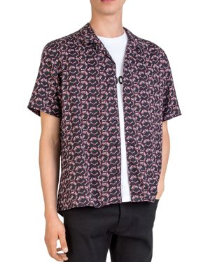 The Kooples Bones Camp Shirt