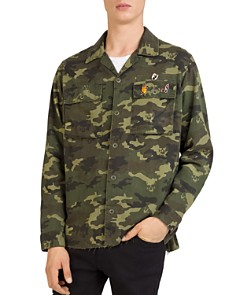 The Kooples - Camouflage Shirt Jacket