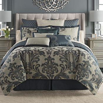 Waterford - Everett Reversible Comforter Set, King