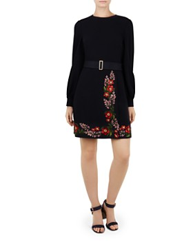 Ted Baker - Siliia Kirstenboch Embroidered Dress