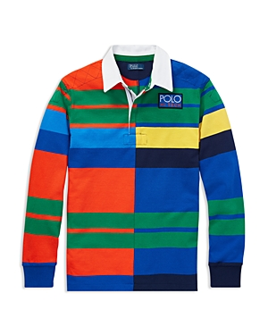 Polo Ralph Lauren Boys' Polo Hi Tech Rugby Shirt - Big Kid
